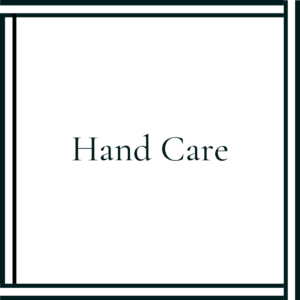 Organic Hand Care Products